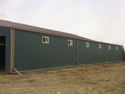 Exterior Renovations on Agricultural Buildings