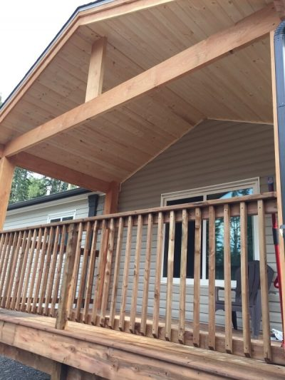 Front Porch Deck - Martens Home Improvement